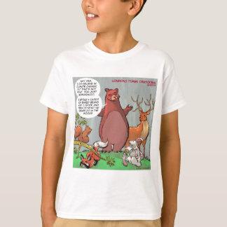 T-shirt Changement climatique de la perspective d'un ours