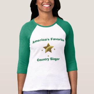 T-shirt Chanteur de country : Le favori de l'Amérique