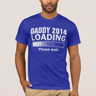 T-shirt Chargement 2014 personnalisé de papa