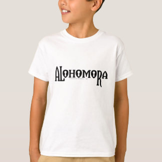 T-shirt Charme | Alohomora de Harry Potter
