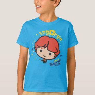 T-shirt Charme de Ron Weasley Engorgio de bande dessinée