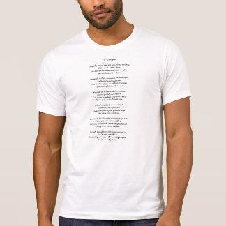 T-shirt Charogne de Baudelaire - d'Une