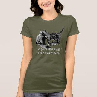 T-shirt Charriez religieux