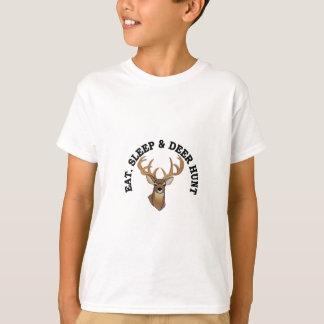 T-shirt Chasse à cerfs communs