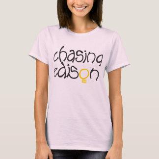 T-shirt Chasse de la pièce en t des femmes d'Edison