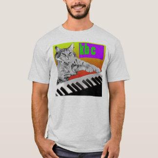 T-shirt Chat de clavier - pièce en t d'accès public
