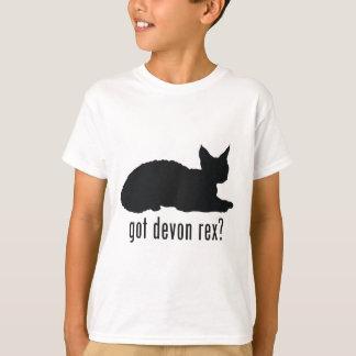 T-shirt Chat de Devonshire Rex