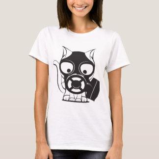 T-shirt Chat de masque de gaz