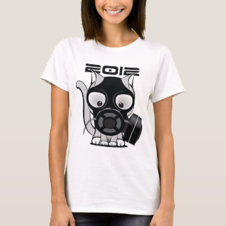 T-shirt Chat de masque de gaz 2012