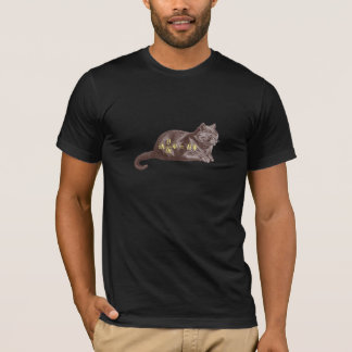 T-shirt Chat de Schrodinger