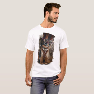 "T-shirt ""Chat de Steampunk """