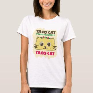 T-shirt Chat de taco