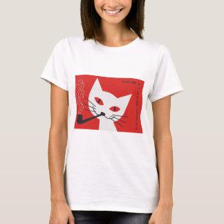 T-shirt Chat de tuyau