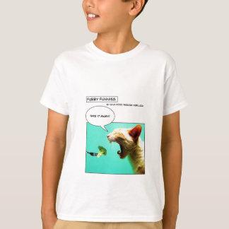 T-shirt Chat et brocoli velus de ~ de Funnies