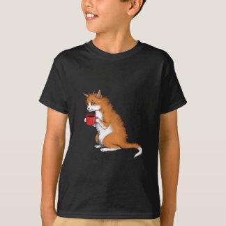 T-shirt Chat grincheux