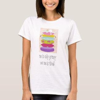 T-shirt Chat grincheux de princesse et les bandes
