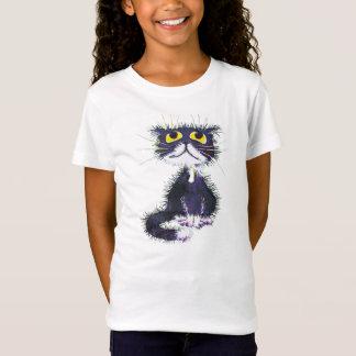 T-Shirt Chat noir et blanc