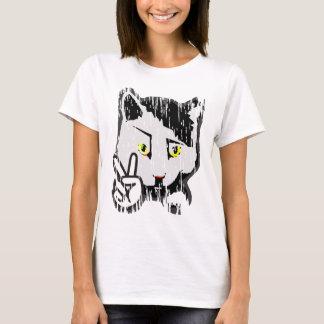 T-shirt Chat paisible