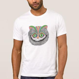 T-shirt Chat psychédélique de Cheshire