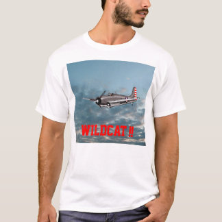 T-shirt Chat sauvage 1942 de Grumman