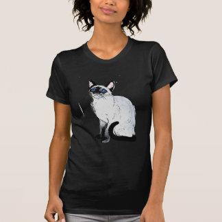 T-shirt Chat siamois