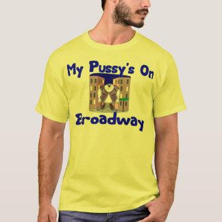 T-shirt Chat sur le tee - shirt de Broadway