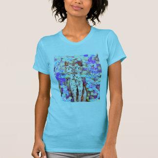 T-shirt chat tigré