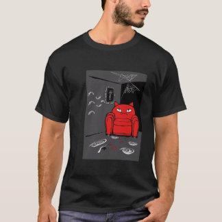 T-shirt Chat vilain de transformateur