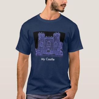 T-shirt château de Blaise glacé, mon château