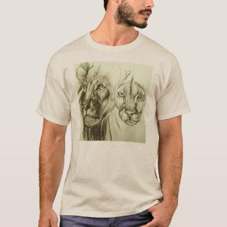 T-shirt Chats du sauvage