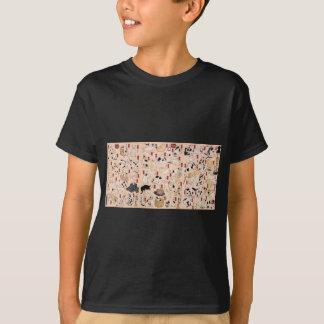 T-shirt Chats suggérés comme cinquante-trois stations de