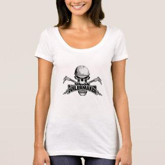 T-shirt Chaudronnier des syndicats : Crâne de soudure