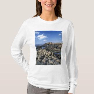 T-shirt Chaussée de Giants, comté Antrim, du nord
