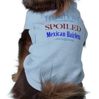 T-shirt chauve mexicain corrompu