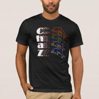 T-shirt Chaz au néon
