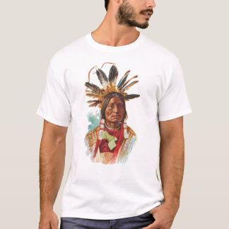 T-shirt Chef de Sioux de Blackfoot : Beaucoup de klaxons