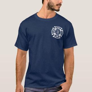T-shirt Chef des pompiers de sapeur-pompier