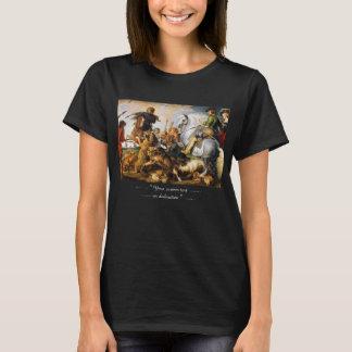 T-shirt Chef d'oeuvre de Peter Paul Rubens de chasse à