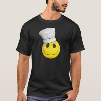 T-shirt chef du smiley 3d