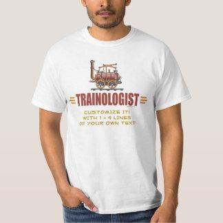 T-shirt Chemin de fer humoristique