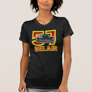 T-shirt Chemise 1957 de Chevy Belair des femmes