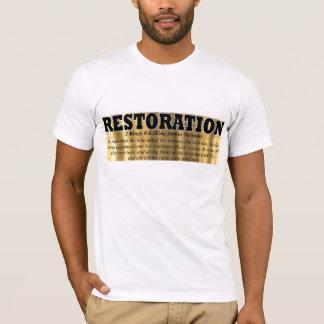 T-shirt Chemise 3 de restauration