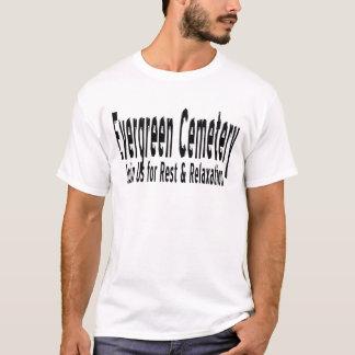 T-shirt Chemise à feuillage persistant de cimetière