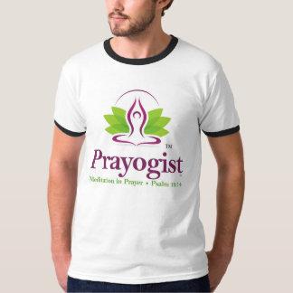 T-shirt Chemise active d'usage d'hommes de logo de