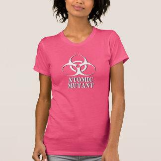 T-shirt Chemise atomique de mutant avec le symbole de