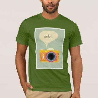 T-shirt Chemise Basique Smile Photographie