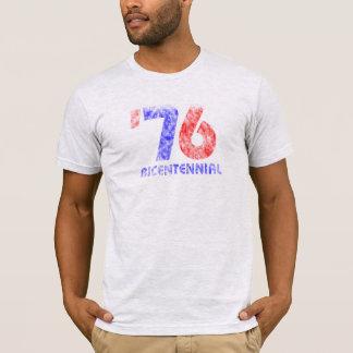 """T-shirt Chemise bicentenaire """"76"""" des USA de cru"""