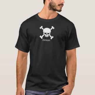 T-shirt Chemise blanche de subordonné de crâne