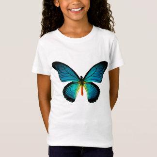 T-Shirt Chemise bleue de papillon