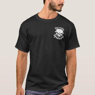 T-shirt Chemise bleue noire de croisière